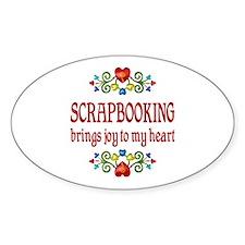 Scrapbooking Joy Decal