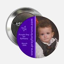 "Bruno Purple Day 2013 2.25"" Button (10 pack)"