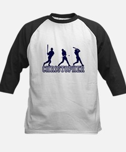 Baseball Christopher Personalized Tee