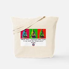 Buddha pop art Tote Bag