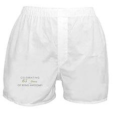 Celebrating 65 Years Awesome Boxer Shorts