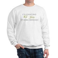 Celebrating 65 Years Awesome Sweatshirt