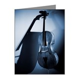 Cello Note Cards (10 Pack)