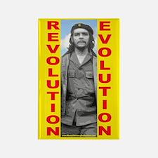 Che Revolution/Evolution Rectangle Magnet