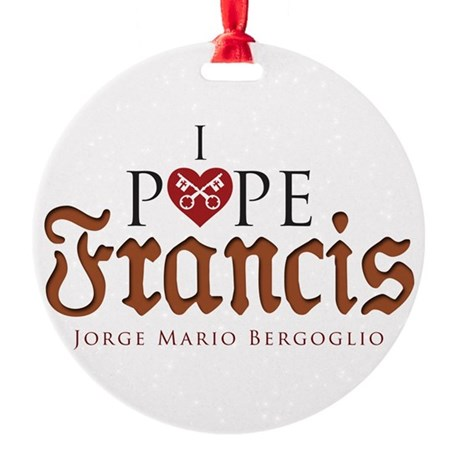 Pope Francis Ornament