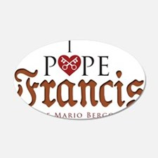 Pope Francis Wall Decal