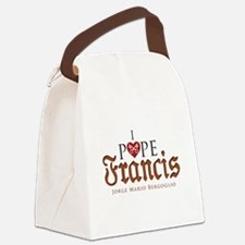 Pope Francis Canvas Lunch Bag