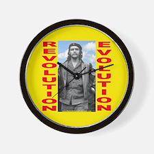 Che Revolution/Evolution Wall Clock