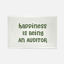 Happiness Is Being An AUDITOR Rectangle Magnet