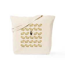 A Sheep with Attitude Tote Bag