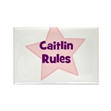Caitlin Rules Rectangle Magnet