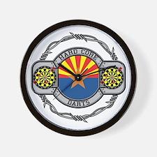 Arizona Darts Wall Clock
