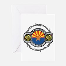 Arizona Darts Greeting Cards (Pk of 10)