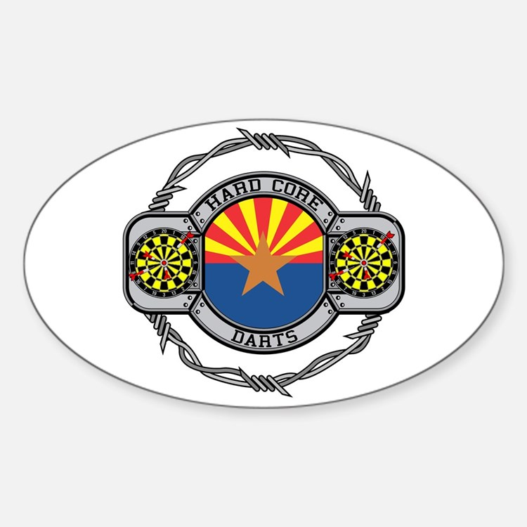 Arizona Darts Oval Decal