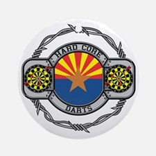 Arizona Darts Ornament (Round)
