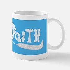 Faith Word Art Mug