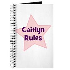Caitlyn Rules Journal
