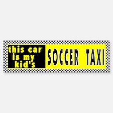 Kid's Soccer Bumper Bumper Bumper Sticker