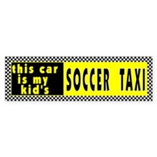 Kid's Soccer Bumper Bumper Sticker