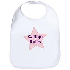 Caitlyn Rules Bib