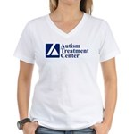 ATClogo T-Shirt - Women's V-neck