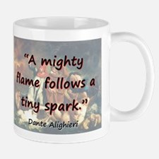 A Mighty Flame Follows - Dante Mug