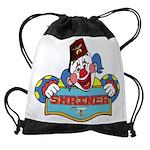 Proud Shrine Clown Drawstring Bag