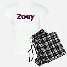 Zoey Red Caps Pajamas