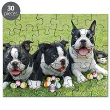 Easter boston terriers Puzzle