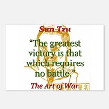 The Greatest Victory - Sun Tzu Postcards (Package