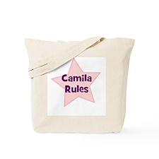 Camila Rules Tote Bag