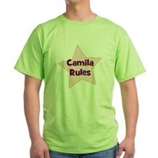 Camila Rules T-Shirt