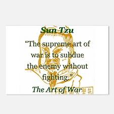 The Supreme Art Of War - Sun Tzu Postcards (Packag