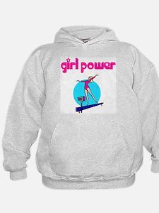 Girl Power Artistic Gymnastic Hoodie