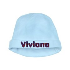 Viviana Red Caps baby hat