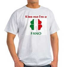 Fano Family Ash Grey T-Shirt