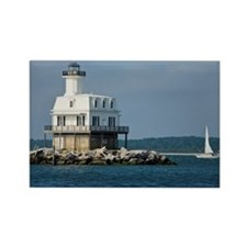 Long Beach Bar  (Bug Light) Light Rectangle Magnet