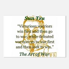 Victorious Warriors Win First - Sun Tzu Postcards