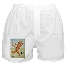 Soccer Monkey Boxer Shorts