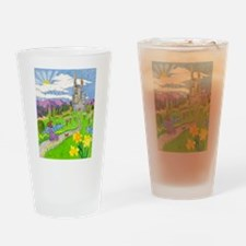 Daffodil Lane Drinking Glass