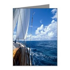 Sailboat deck Note Cards (Pk of 20)