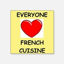 french cuisine Sticker