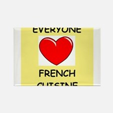 french cuisine Rectangle Magnet