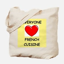 french cuisine Tote Bag