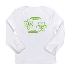 I lost and electron. Are you positive? Long Sleeve