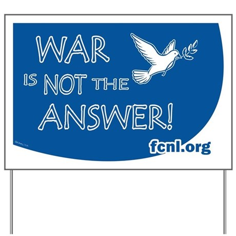 War is not the Answer–to ISIS or Cancer