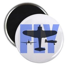 FLY Blue&Gray Magnet