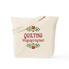 Quilting Joy Tote Bag