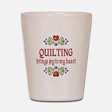 Quilting Joy Shot Glass