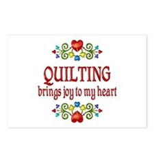 Quilting Joy Postcards (Package of 8)